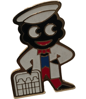 Robertsons Badge: Milkman Golliwog