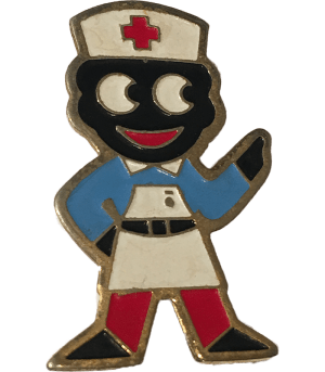Robertsons Badge Nurse Golliwog