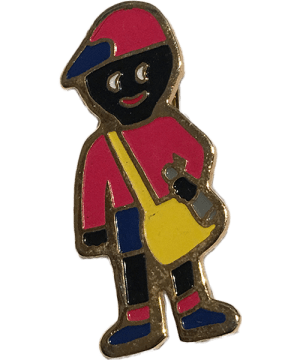 Robertsons Badge: Paper Boy Golliwog