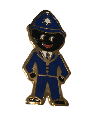 Robertsons Badge: Policeman Golliwog