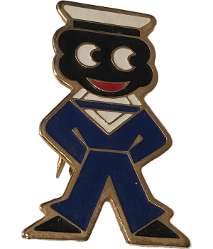 Robertsons Badge: Sailor Golliwog