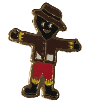Robertsons Badge: Scarecrow Golliwog