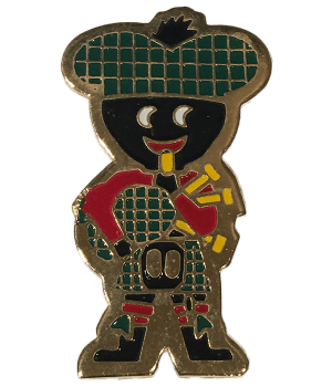Robertsons Badge: Scottish Golliwog