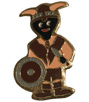 Robertsons Badge: Viking Golliwog