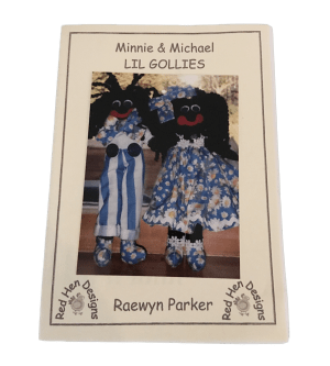 Minnie and Michael - Golliwog book