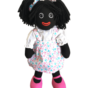Maplewood: Angie 35cm Golliwog With Triangle Designs
