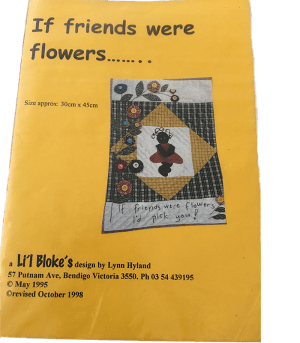 Li'l Bloke Pattern: IF FRIENDS WERE FLOWERS