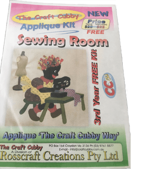 Craft Cubby Pattern: SEWING ROOM