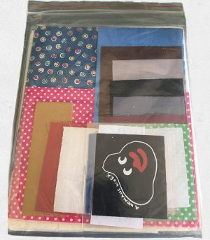 Craft Cubby Pattern: WOMANS WORK WITH FABRIC