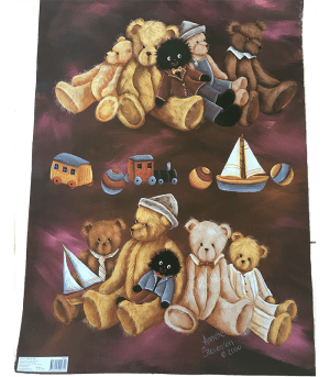 GOLLY, TEDDY & TOYS POSTER
