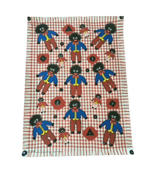 GOLLIWOG ON GINGHAM POSTER
