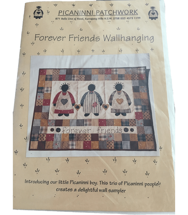 FOREVER FRIENDS WALLHANGING