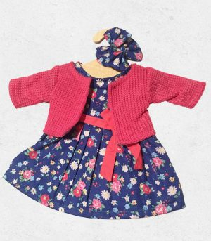 CLOTHES FOR YOUR GOLLIES - navy floral