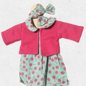 CLOTHES FOR YOUR GOLLIES - pink and mint