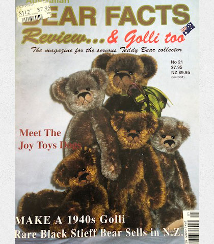Bear Facts Review....& Golli too