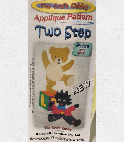 Two Step Applique Pattern