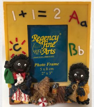 Photo Frame With Gollies