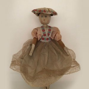 Pre-loved Wooden Peg Doll