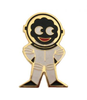 Robertsons Badge: Astronaut Golliwog 1980